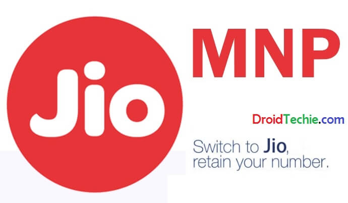 Reliance Jio Started Mobile Number Portability