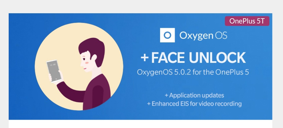 Oneplus Released Android Oreo 8 Based OxygenOS 5.0.2 OTA for OnePlus 5T