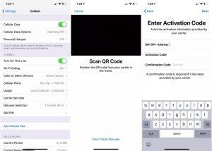 iphone-xs-dual-sim-esim-ios-12-1-usa settings